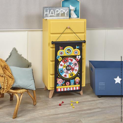 Jeu de fléchettes magnétiques Fête Foraine, plein air, jeu de société, motricité pour enfant dès 4 ans JANOD