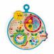 Calendrier Au Fil du Temps Français en bois agenda enfant à partir de 3 ans JANOD