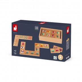 Dominoes Game - Dominos 1Ers Mots (wood)