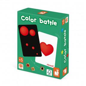 Jeu de Rapidité - Color Battle (bois et carton)