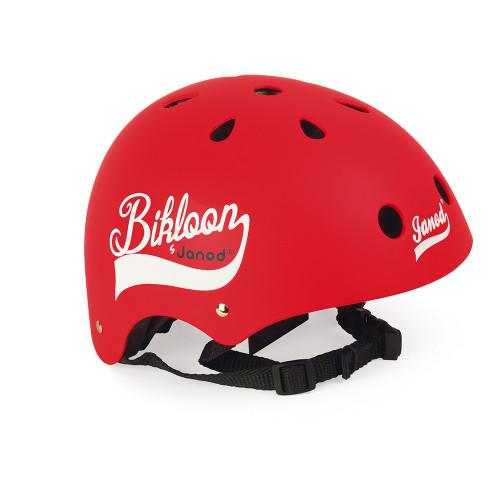 Bikloon - Casque Rouge Pour Draisienne