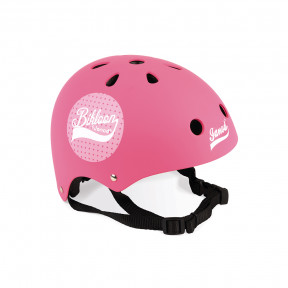 Bikloon Casco Rosa