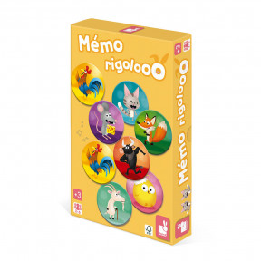 Gedächtnisspiel Memo Rigolooo