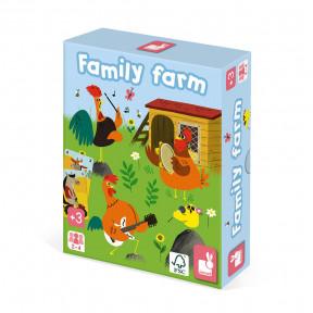 Quartett Tierfamilie Bauernhof