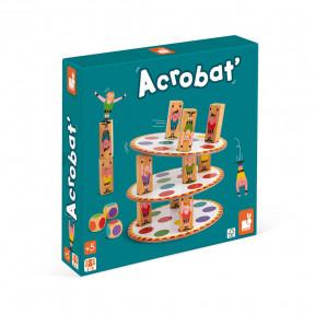 Wackelturm-Spiel Acrobat