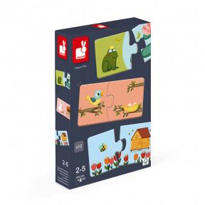 Kombinationsspiel Tier-Puzzle Duonimo 20 Teile