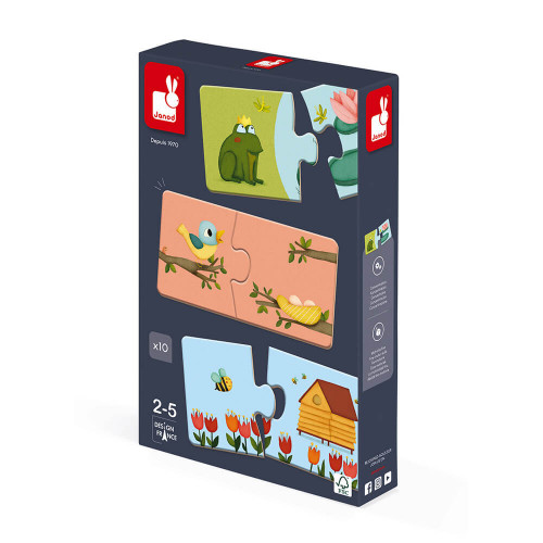 Jeu d'association - puzzle Duonimo 20 pièces