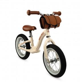 Bicicletta Vintage senza pedali Beige