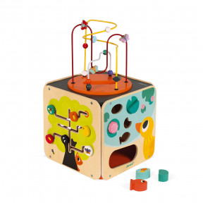 Multi-Activity Looping Toy (wood)