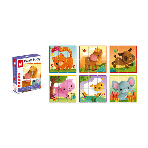 Jeu d'Association - Puzzle Party (carton)