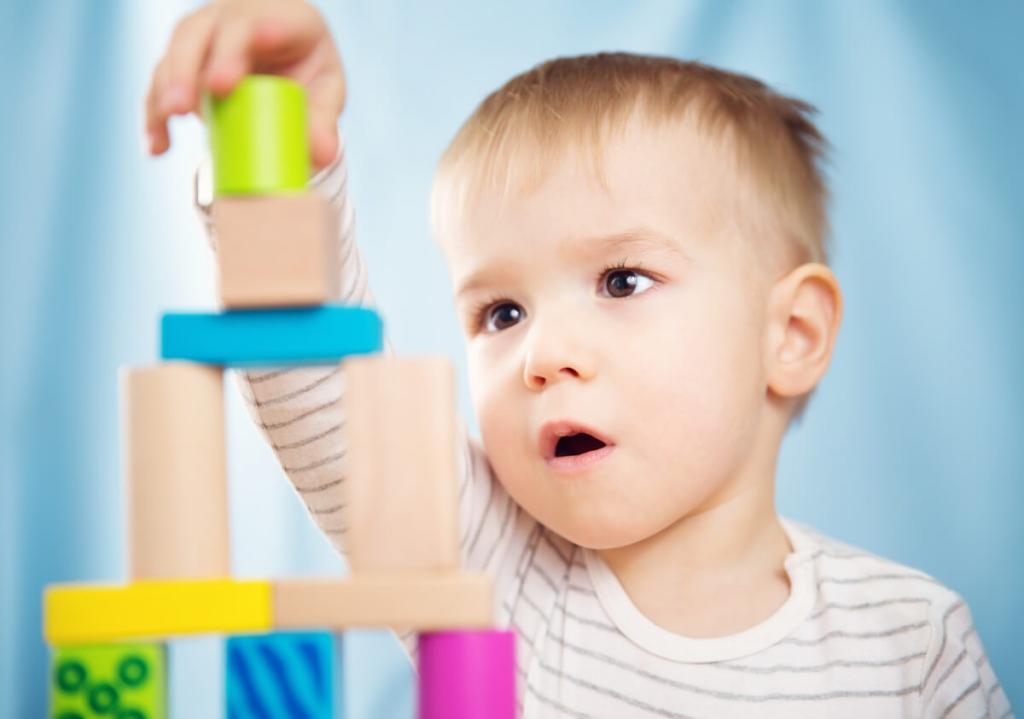 L'enfant à la découverte de l'espace visuo-constructif