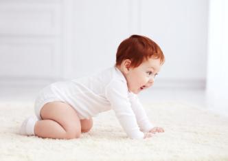 Le bébé, un être en mouvement