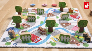 Racing Board Game Chat Perche