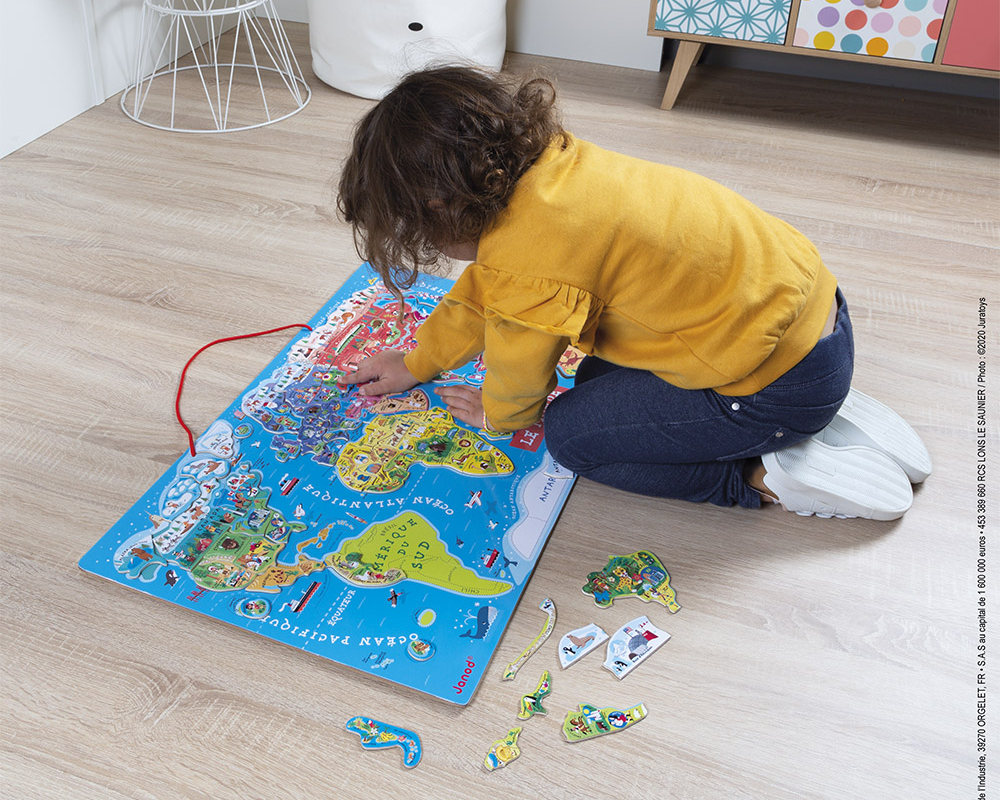 Quand et pourquoi offrir un puzzle à un enfant ?