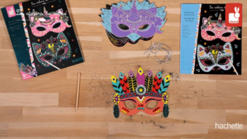 Scratch Art Party Masks