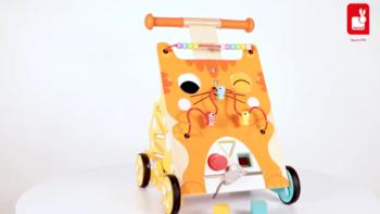 Laufwagen Katze Multi-Activity (Holz)