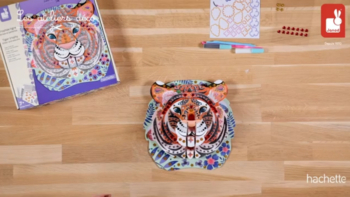 Kit Créatif – Strass et Paillettes Trophée Tigre
