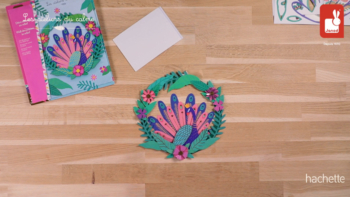 Creative Kit – Peacock Relief Wall Decoration
