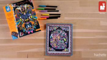 Kit Créatif – Coloriages + Feutres Fluo Animaux