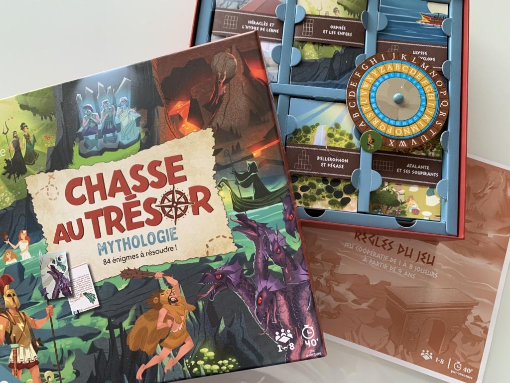 Echanges avec les créateurs et concepteurs de nos jeux de société «Chasse au trésor»!