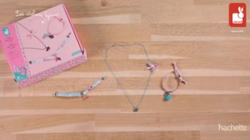 Kit Créatif – 3 Bijoux Rubans à Fleurs à Créer