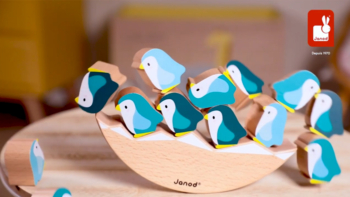 Wooden Penguins See-Saw game – In partnership with WWF®