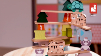 Wooden Balancing Animals game – In partnership with WWF®