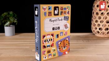 Magneti'book Mix & Match Animals, 72 magnets