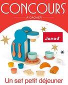 💨 On commence la semaine sur les chapeaux de roue avec notre superbe Set du Petit Déjeuner ☕️ à gagner sur le compte de @jesuismaman_pageofficielle ! Vous prendrez volontiers un doux café ? #janod #imitation #dejeuner #concours