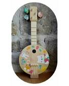 🪕 Doux Banjo 🪕  Ce banjo sera parfait pour s'initier à la musique, créer de douces mélodies 🎶 : les petits seront ravis et fiers de créer un petit concert !  Il est possible de l'accorder grâce aux petites clés en forme d'oiseeaux.  Alors faites entrer sur scène les petits artistes ! 🎶🎶  📸 @marcoomd   #janod #jeux #jouets #jouetsenbois #imiter #partager #echanger #jouer #grandir #bienveillance #confiancenesoi #explorer #grandirparlejeu #éveilparlejeu #grandirenjouant #banjo #banjoenfant #éveilmusical #musiqueenfant